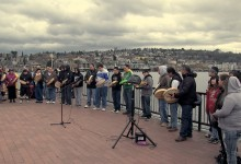 Filming Idle No More actions in Washington